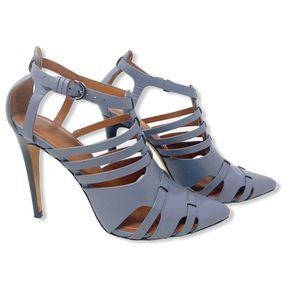 Rebecca Minkoff Randi Pumps Caged Heel Blue 8.5